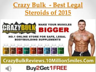 Crazy Bulk  - Read Unbiased Review of legal steroids