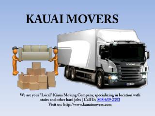 THE KAUAI MOVERS