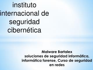 soluciones de seguridad informatica bartalex