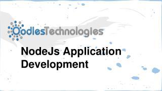 NodeJS Application Development Services