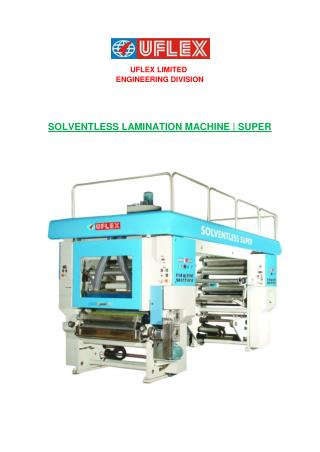 We are the leading Manufacture of lamination machine in india