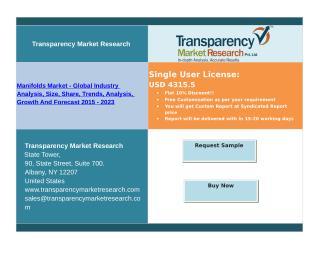 Manifolds Market Forecast up to 2023