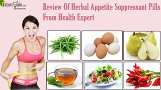 Review Of Herbal Appetite Suppressant Pills From Health Expert