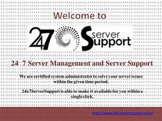 Linux Server Monitoring - 24x7 Server Support
