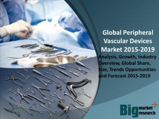 2015 Peripheral Vascular Devices Market -  Size, Trends, Growth & Forecast to 2019