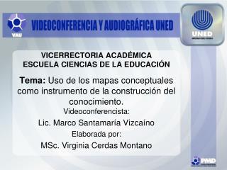 VICERRECTORIA ACAD MICA ESCUELA CIENCIAS DE LA EDUCACI N