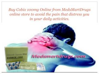 Coxib 100mg - Effective Pill To Treat Inflammation And Pain