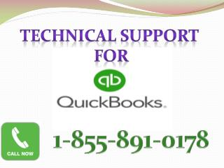 1-855-891-0178 quickbooks customer support number