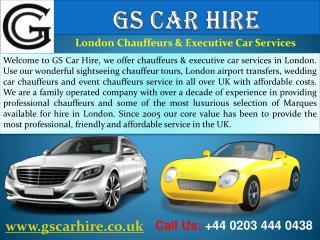 London Chauffeur Driven & Executive Car Hire Services