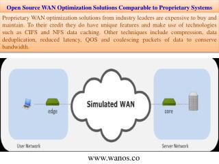 Open Source WAN Optimization Solutions Comparable to Proprietary Systems