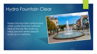 Hydra Fountain Clear-Helps to Clean the Water Founain-500ml