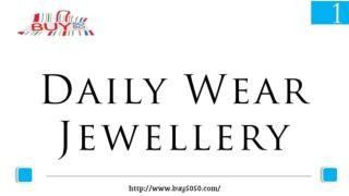 Daily Wear Jewellery Collection