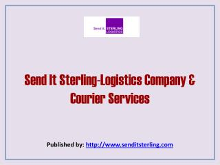 Send It Sterling-Logistics Company & Courier Services
