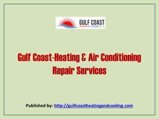 Heating & Air Conditioning Repair Services