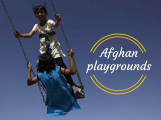 Afghan playgrounds
