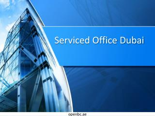 Serviced Office Dubai