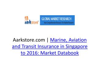 Aarkstore.com | Marine, Aviation and Transit Insurance in Si