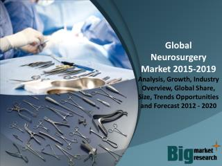Global Neurosurgery Market 2015 - Market Size, Share, Growth & Opportunities