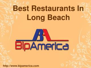 Best Restaurants In Long Beach