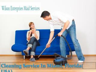 Cleaning Service In Miami