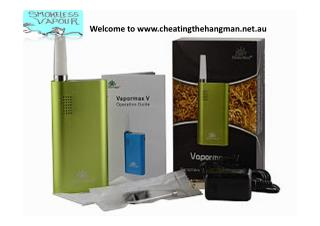 Excellent price with free warranty vaporizer sell at Cheating the Hangman