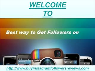 Instagram Followers Review- Helping to Promote Business