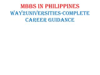Study medicine in Philippines at affordable cost