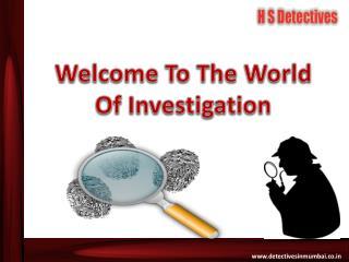 Detective agencies in mumbai