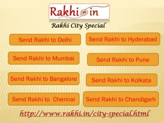 Online Rakhi delivery to Popular Cities In India
