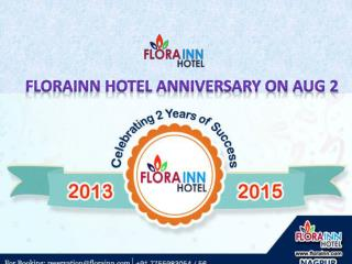 FloraInn 2nd Anniversary on August 2, 2015