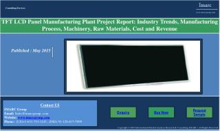 TFT LCD Panel Manufacturing Plant | Market Report