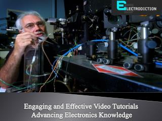 The Fun of Electronics learning through Online Video Tutorials