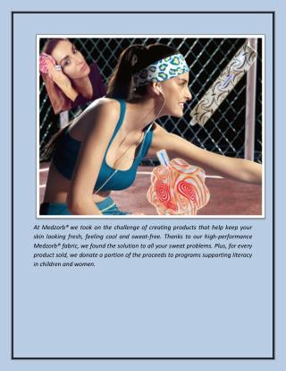 Sweat absorbing Head Ties: How to Tie a Long head tie or Scarf?