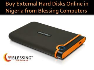 External Hard Disk at Blessing Computers
