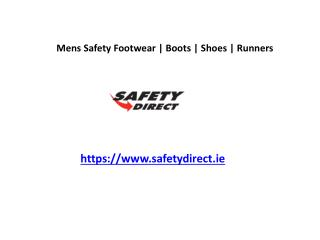 Mens Safety Footwear | Boots | Shoes | Runners