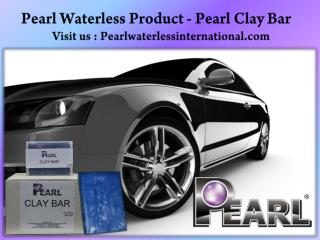 Pearl Waterless Product- Pearl Clay Bar