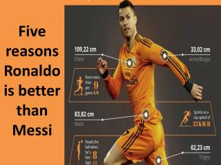 Five reasons Ronaldo is better than Messi