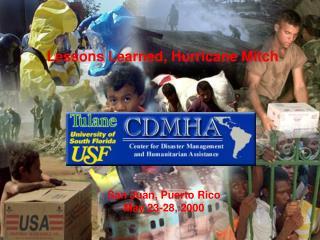 San Juan, Puerto Rico May 23-28, 2000