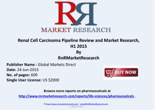 Renal Cell Carcinoma Therapeutic Development Review, H1 2015