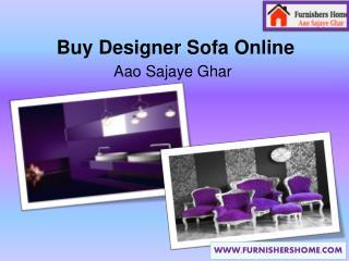 Buy Designer Sofa Online