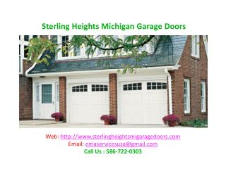 Sterling Heights Michigan Garage Doors