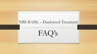 Duckweed Remover Treatment