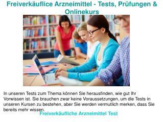 Freiverkäufliche Arzneimittel Test | Freiverkäufliche Arzneimittel Liste
