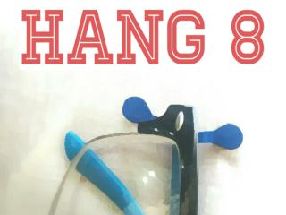 Hang 8 - The Magnetic Eyewear Holder