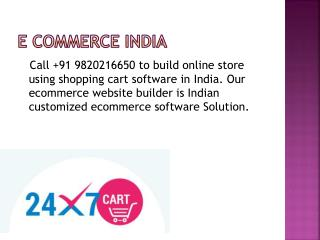 e Commerce India
