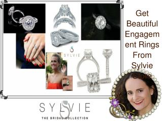 Get Beautiful Engagement Rings From Sylvie Store
