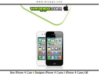 Buy Designer iPhone 4 cases from Wrappz
