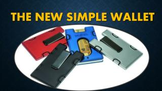 The New Simple Wallet
