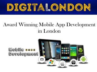 Award Winning Mobile App Development in London