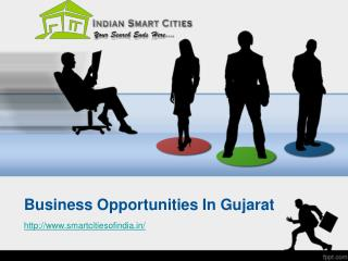 Business Opportunities In Gujarat